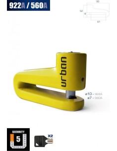 CANDADO DISCO URBAN 560A 5.5mm